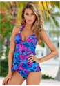 Front view Goddess Full Tankini