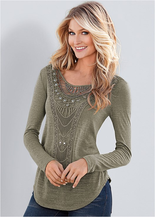 beaded evening sweaters tops blouses tunics tanks long sleeve more venus