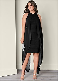 plus size slimming dress