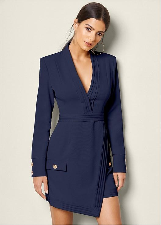 Navy Coat Dress | Trends | Venus