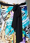Alternate view Belted Print Maxi Skirt