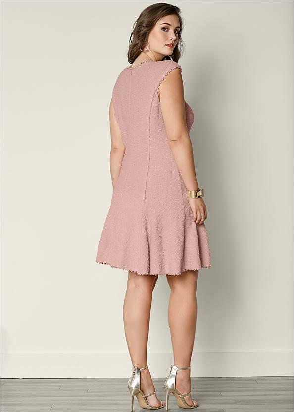 Alternate view Textured Flare Dress
