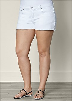 Plus Size Shorts & Skirts