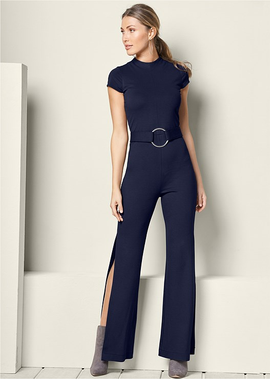 JUMPSUIT WITH HIGH SLITS