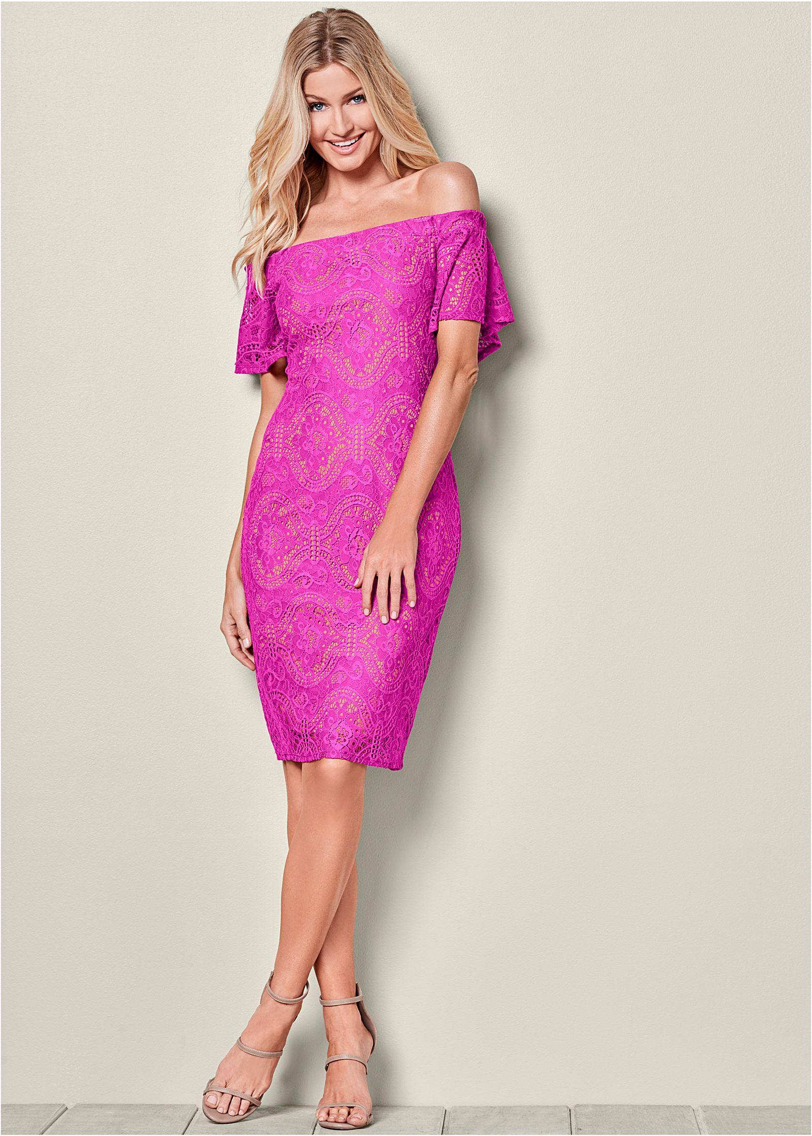 Fuschia Cocktail Dress