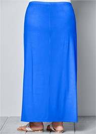 Back view Ombre Embellished Skirt