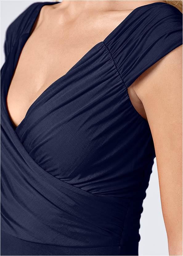 Alternate View Draped Front Dress