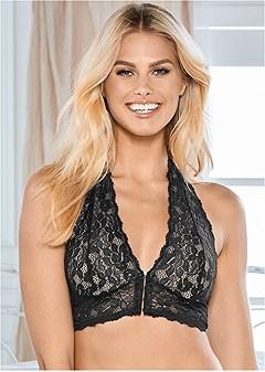 natural beauty halter bra