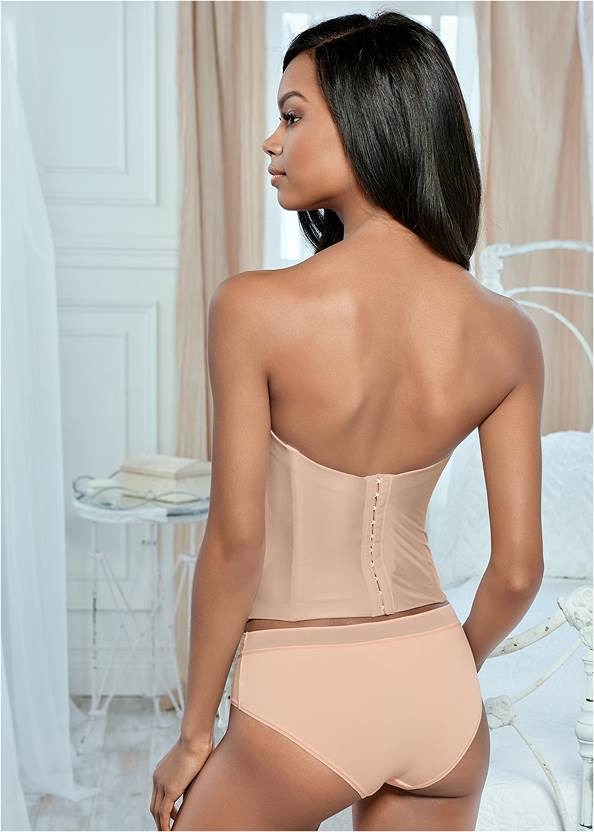 Back view Confidence Smooth Corset
