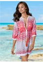 Front view Tassel Tie Front Cover-Up
