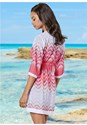 Back view Tassel Tie Front Cover-Up