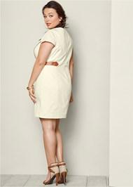 BACK VIEW Waist Detail Dress