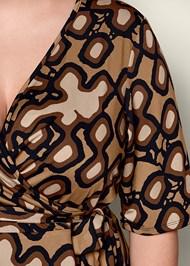 Alternate view Printed Wrap Dress