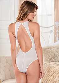 Alternate View Open Back Lace Bodysuit