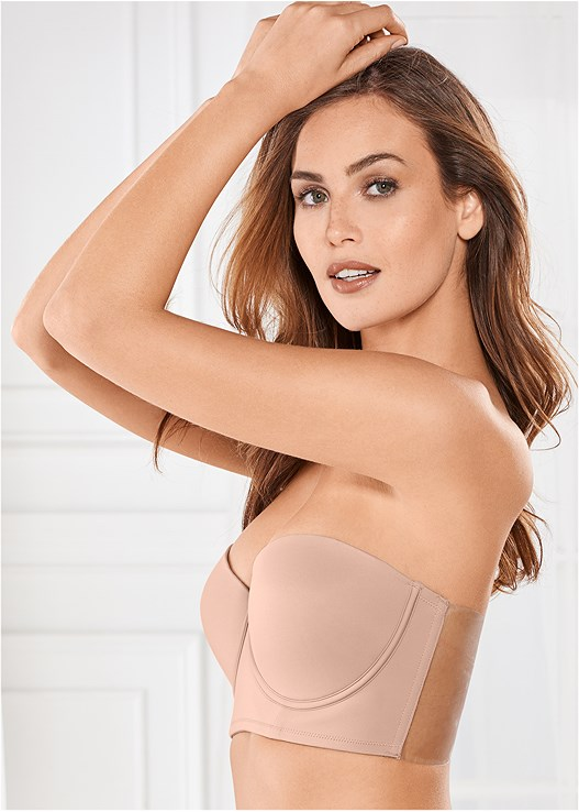 CUPID BACKLESS BUSTIER BRA,EVERYDAY YOU NO SHOW PANTY