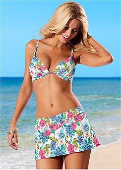 skirted swim bikini bottom