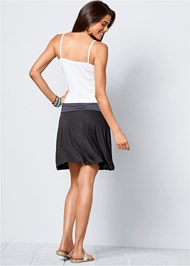 Back view Casual Tank Dress