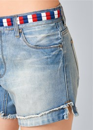 Alternate View Waistband Detail Shorts