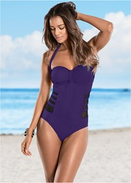 Front view Mesh Side One-Piece