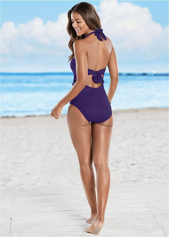 Back view Mesh Side One-Piece