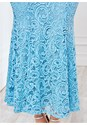 Alternate view Long Lace Formal Dress
