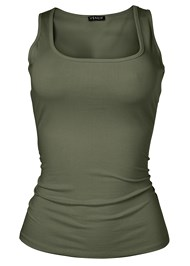 Front view Square Neck Tank Top
