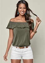 ruffle top two pack