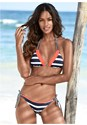 Front view Strappy Triangle Bikini Top