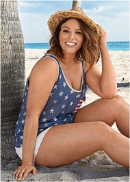 Alternate View Stars And Stripes Knit Top