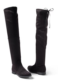 Alternate View Over The Knee Stretch Boots