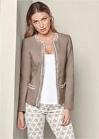 trim detail jacket