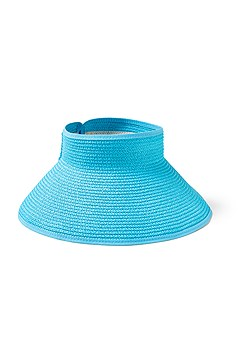 roll up visor wrap hat