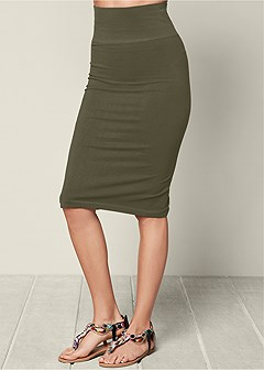 seamless midi skirt