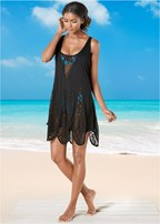 scalloped edge cover-up