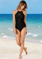 macrame one-piece