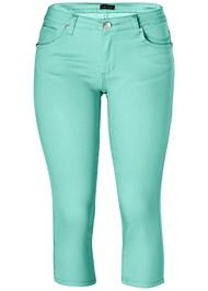 Alternate view Color Capri Jean