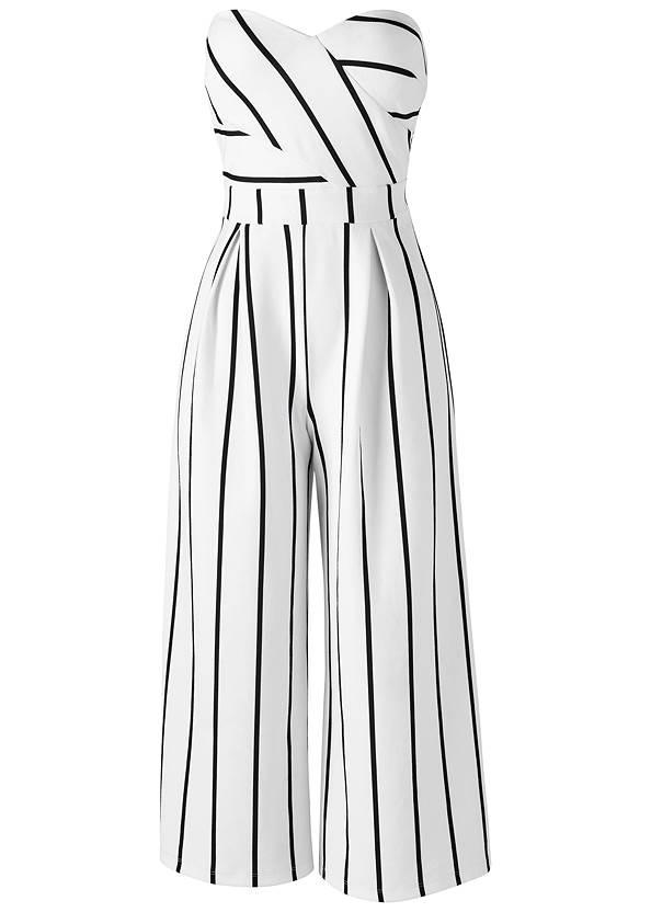 Alternate view Stripe Culotte Jumpsuit