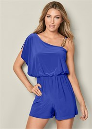 Front view Chain Detail Romper