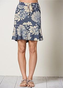 flounce lounge skirt