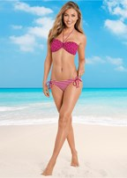 shapely ruched bandeau