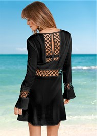 Back View Caged Detail Cover-Up