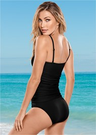 Back View Slimming Tankini Top