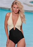criss cross one piece