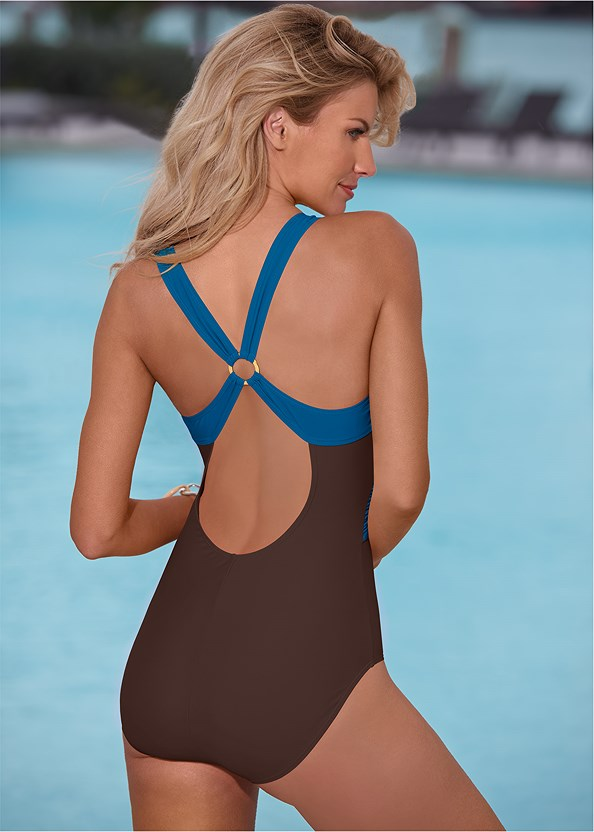 Crisscross One-Piece