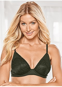natural beauty lace bra