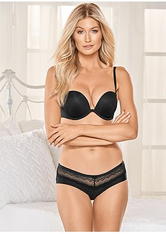 lace detail cheeky 2-pack
