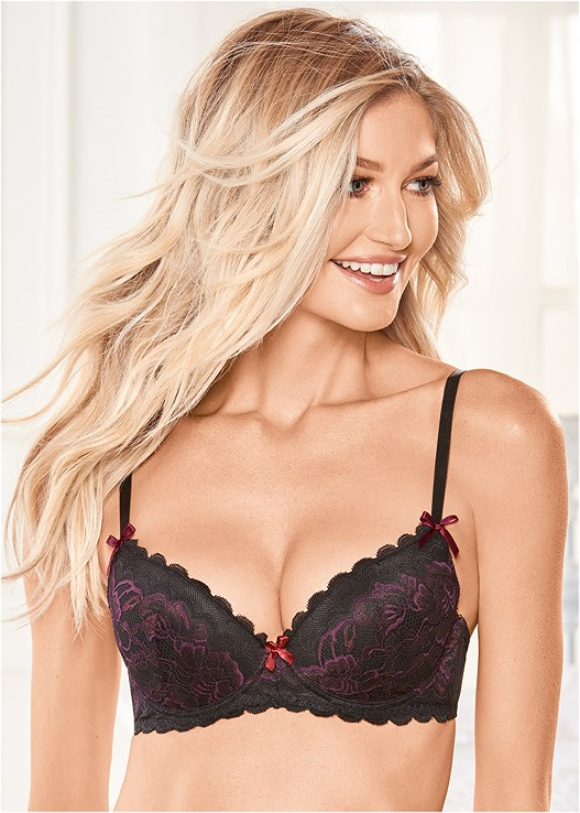 KISSABLE CROSS DYE LACE BRA