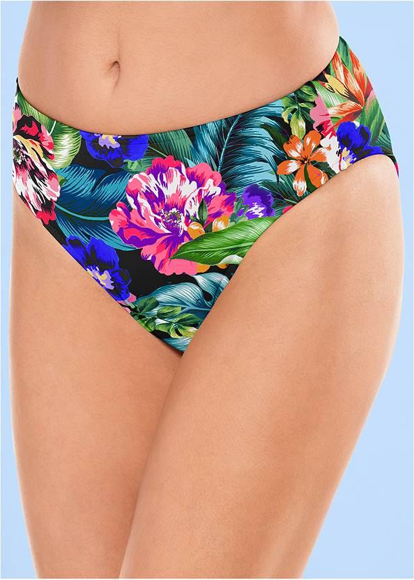 Alternate View Mid Rise Hipster Classic Bikini Bottom
