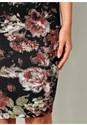 Alternate View Floral Print Bodycon Dress