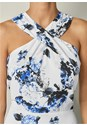 Alternate View Cross Front Floral Dress